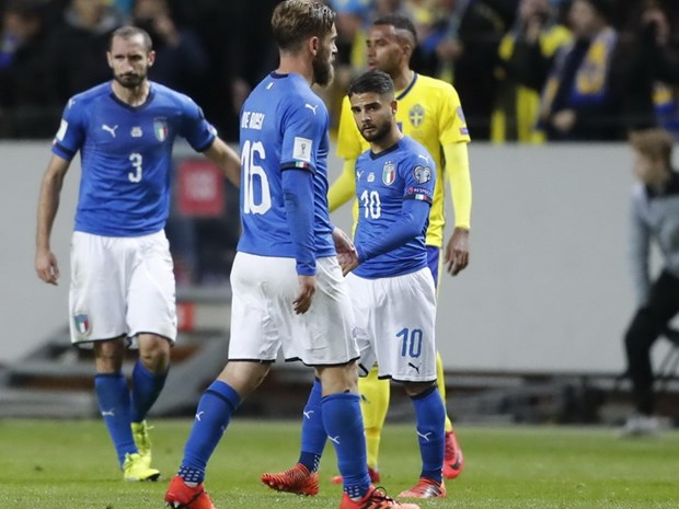 Italy truoc luot ve play-off World Cup: Sau lung la vuc tham hinh anh 1