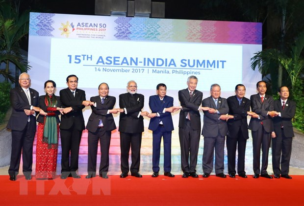 Thu tuong phat bieu tai Hoi nghi Cap cao ASEAN-An Do lan thu 15 hinh anh 2