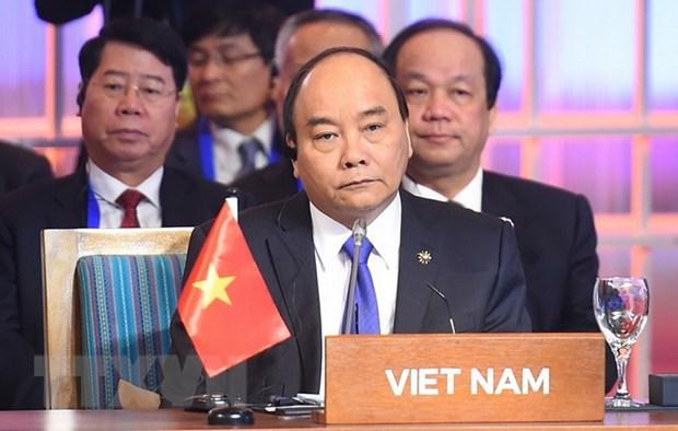 Thu tuong phat bieu tai Hoi nghi Cap cao ASEAN-An Do lan thu 15 hinh anh 1