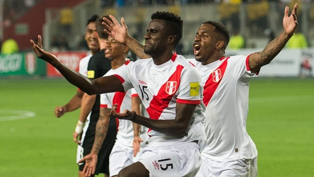 Peru gianh tam ve cuoi cung du vong chung ket World Cup 2018 hinh anh 1
