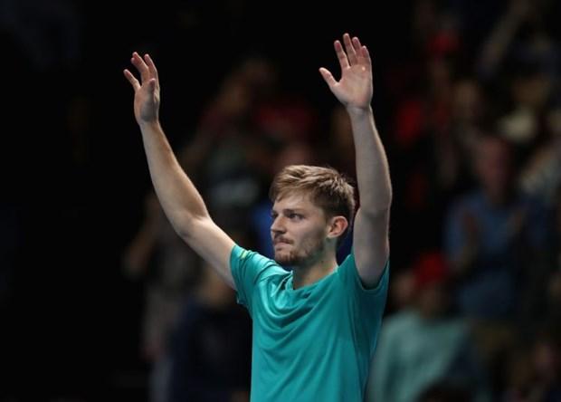 David Goffin thang soc Roger Federer o ban ket ATP Finals 2017 hinh anh 2