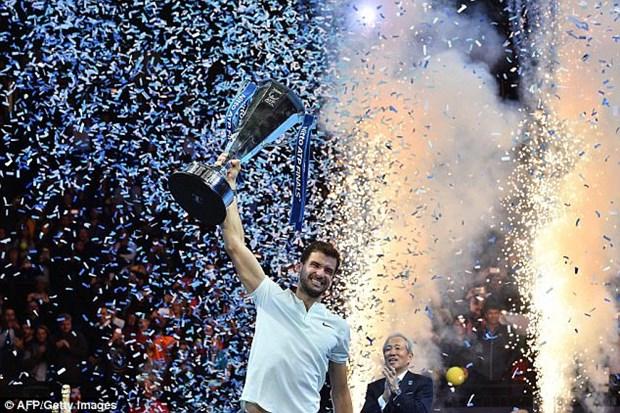 Ha David Goffin, Grigor Dimitrov lan dau dang quang ATP Finals hinh anh 2