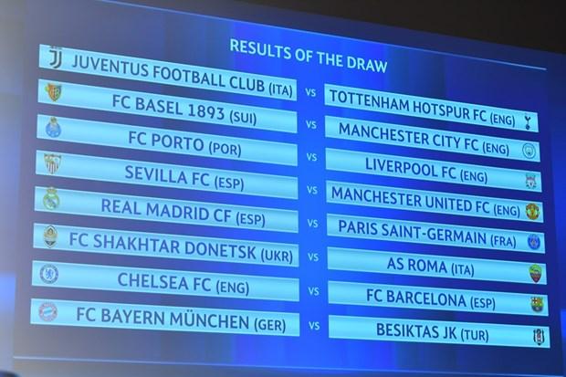 Vong 1/8 Champions League: Chelsea dung Barca, Real gap PSG hinh anh 1