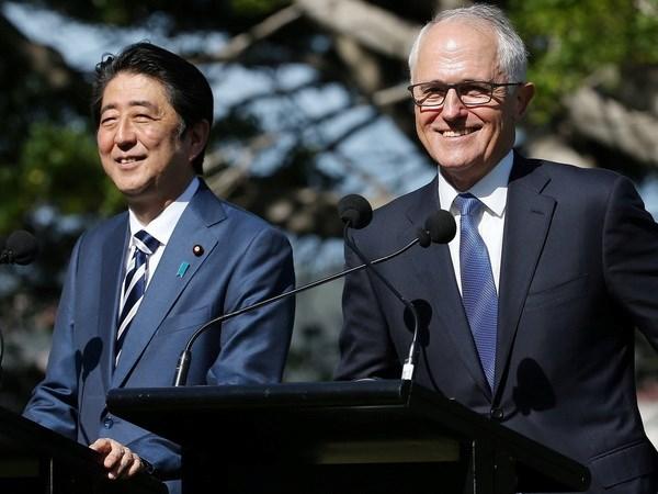 Thu tuong Australia va Nhat Ban cam ket ky cam ket som ky CPTPP hinh anh 1
