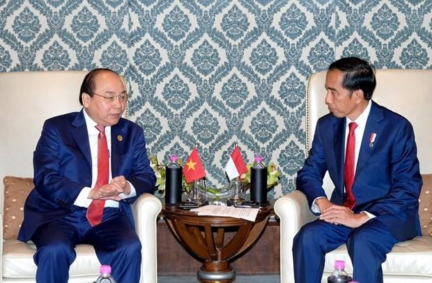 Thu tuong tiep xuc song phuong ben le Hoi nghi ASEAN-An Do hinh anh 2