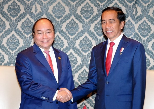 Thu tuong tiep xuc song phuong ben le Hoi nghi ASEAN-An Do hinh anh 1