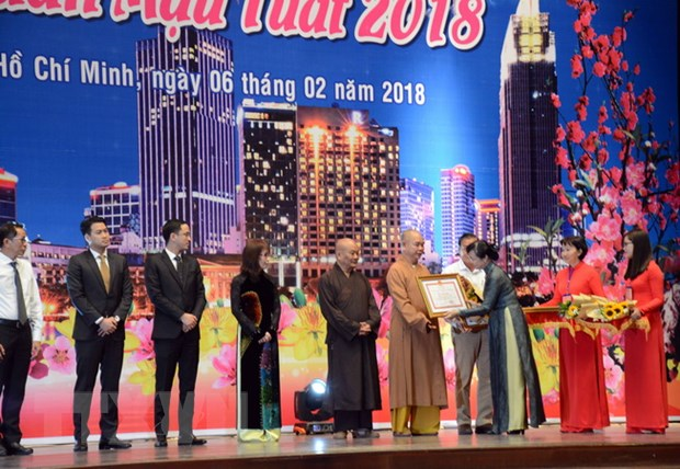 Thanh pho Ho Chi Minh hop mat kieu bao mung Xuan Mau Tuat 2018 hinh anh 1
