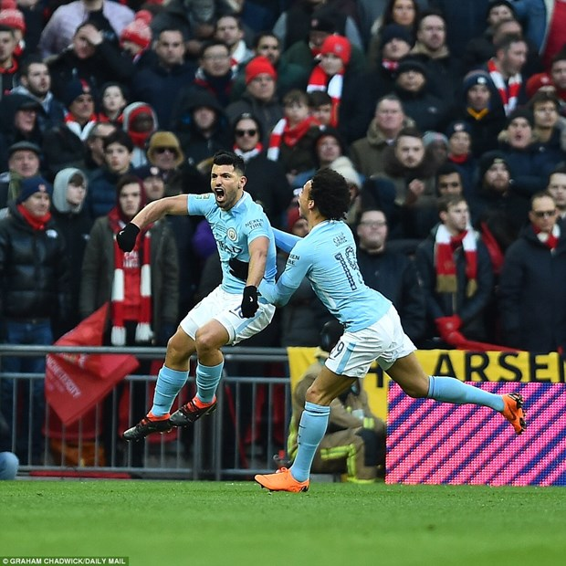 Vui dap Arsenal, Manchester City vo dich Cup Lien doan Anh hinh anh 3