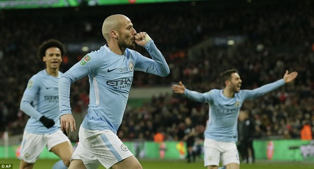 Vui dap Arsenal, Manchester City vo dich Cup Lien doan Anh hinh anh 5