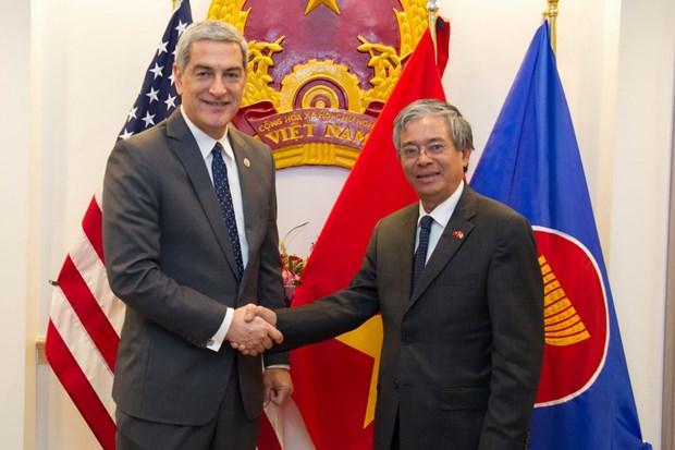 Dai su Pham Quang Vinh danh gia cao moi quan he My va ASEAN hinh anh 3