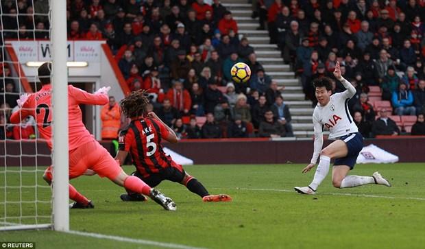 Tottenham Hotspur 'da' Liverpool ra khoi top 3 Premier League hinh anh 1