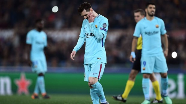 Video can canh Barcelona cay dang chia tay Champions League hinh anh 1