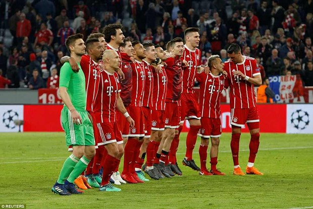 Nguoi Bayern noi gi sau tran thu 100 sach luoi o Champions League? hinh anh 1