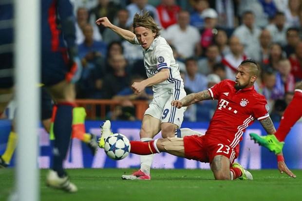 Ban ket Champions League: Bayern tai ngo Real, Liverpool gap Roma hinh anh 1