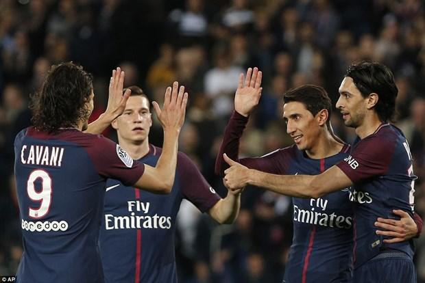 PSG len ngoi Ligue 1 sau man 'huy diet khong tuong' truoc Monaco hinh anh 2