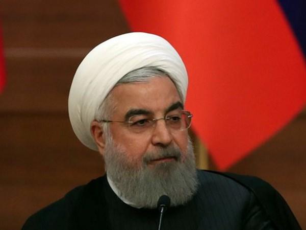 Iran san sang dap tra neu My rut khoi thoa thuan hat nhan hinh anh 1