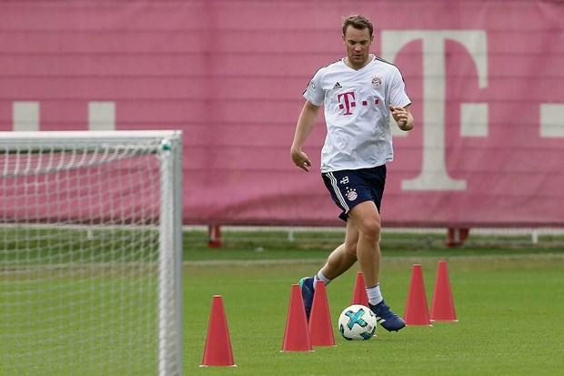 FC Bayern: Vi tri nao cho Sven Ulreich neu Manuel Neuer tro lai? hinh anh 3