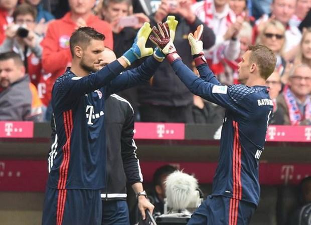 FC Bayern: Vi tri nao cho Sven Ulreich neu Manuel Neuer tro lai? hinh anh 1