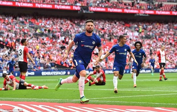 Chelsea 'dai chien' Manchester United tai chung ket FA Cup hinh anh 1