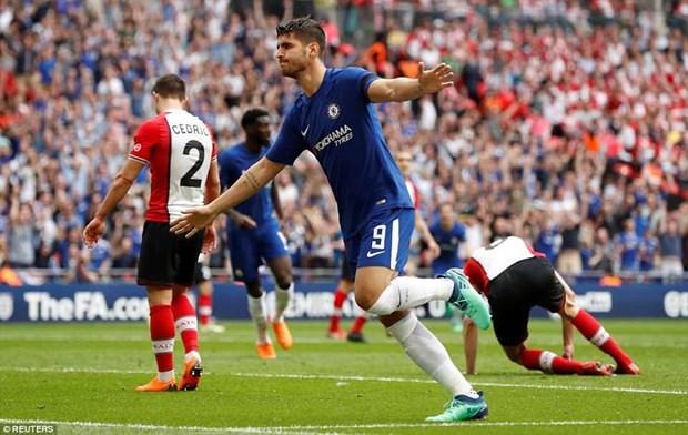 Chelsea 'dai chien' Manchester United tai chung ket FA Cup hinh anh 2