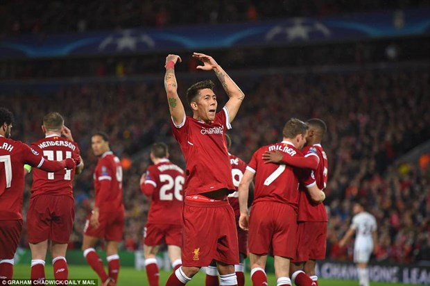 Mohamed Salah toa sang, Liverpool thang huy diet AS Roma hinh anh 3