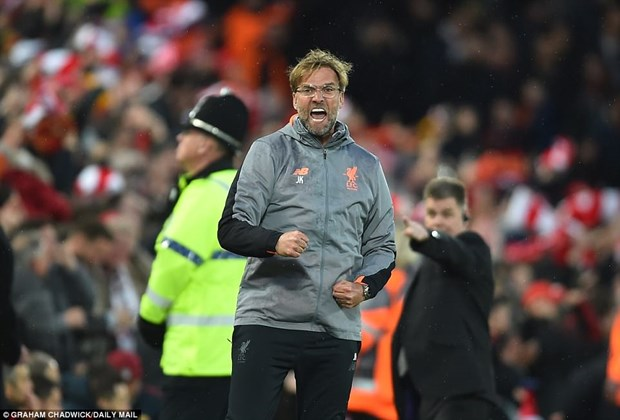 HLV Klopp noi gi sau khi Liverpool dat 1 chan vao chung ket? hinh anh 1