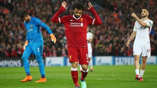 Mohamed Salah toa sang, Liverpool thang huy diet AS Roma hinh anh 1