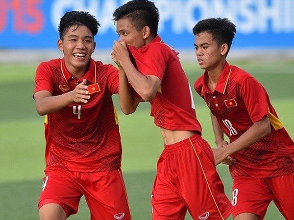 U16 Viet Nam de tho tai vong chung ket giai U16 chau A 2018 hinh anh 2