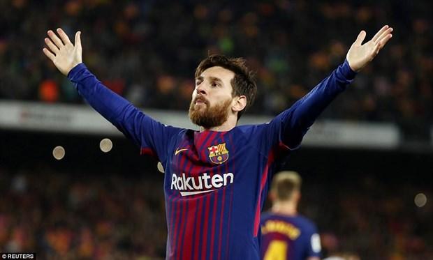 Cristiano Ronaldo va Lionel Messi cung di vao lich su El Clasico hinh anh 2
