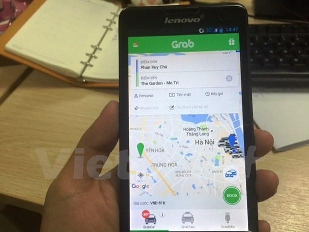 Chuyen ho so GrabTaxi mua lai Uber len Hoi dong canh tranh hinh anh 1