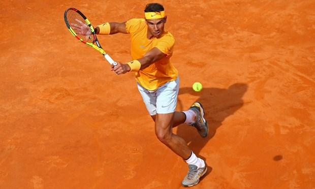 Nadal 'bung tinh' sau con mua, dang quang Rome Masters kich tinh hinh anh 2
