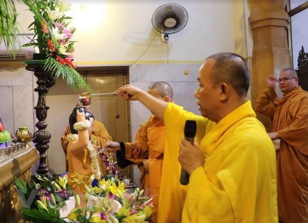 Cong dong nguoi Viet tai An Do long trong ky niem le Phat dan hinh anh 1