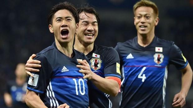 Tuyen Nhat Ban chot danh sach 23 cau thu du VCK World Cup 2018 hinh anh 1
