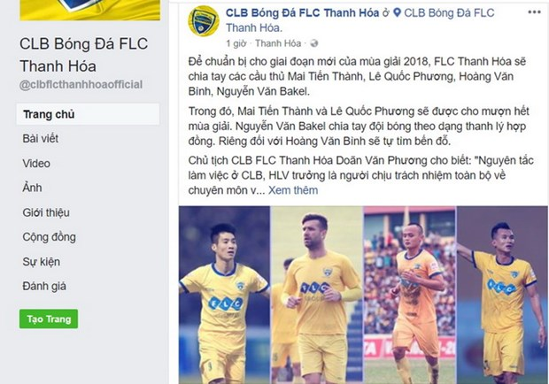 FLC Thanh Hoa da chinh thuc chia tay hang loat cau thu hinh anh 2