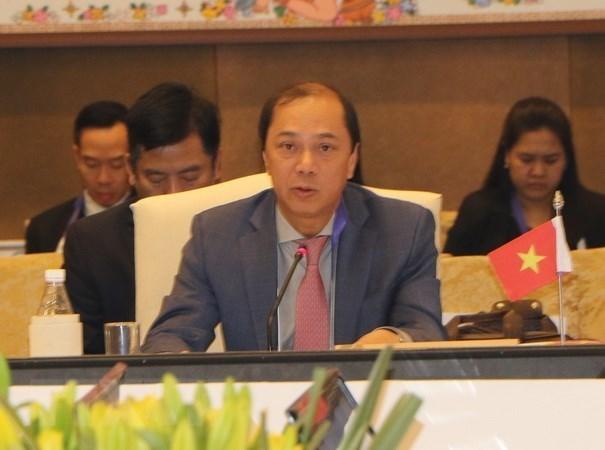 Hoi nghi Tham van Quan chuc cap cao ASEAN-Trung Quoc lan thu 24 hinh anh 1