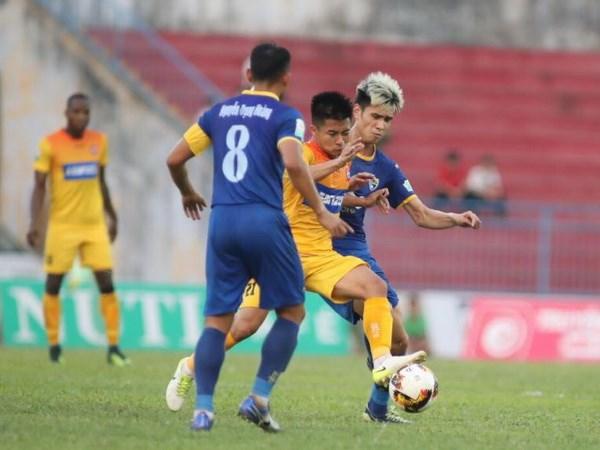 V-League: Hai Phong ha Thanh Hoa, Nam Dinh chua thoat day bang hinh anh 1