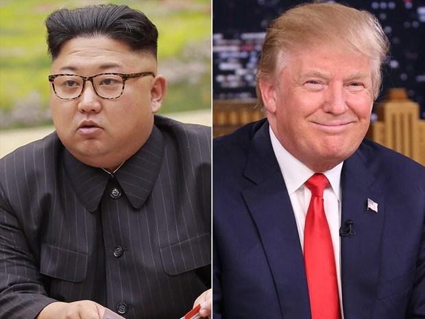 Ong Trump gap rieng ong Kim Jong-un truoc khi hop cung cac co van hinh anh 1
