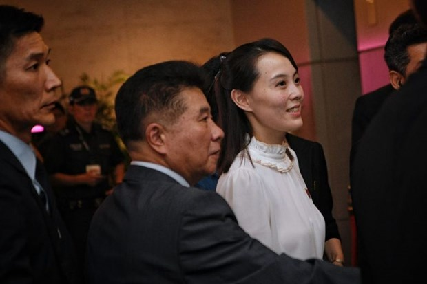 Can canh Nha lanh dao Kim Jong-un kham pha Singapore ve dem hinh anh 3