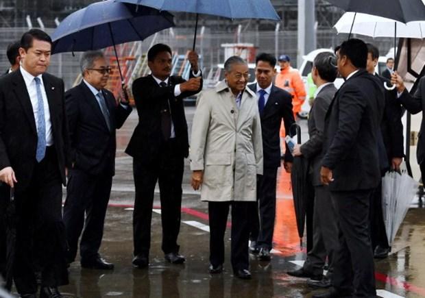 Thu tuong Malaysia Mahathir Mohamad bat dau tham Nhat Ban hinh anh 1