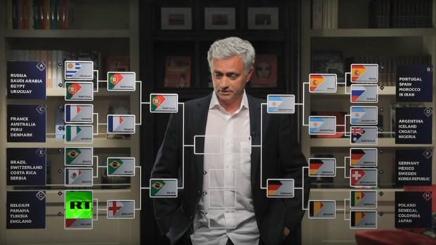 Mourinho du doan cac doi va tu ket va ban ket World Cup 2018 hinh anh 2