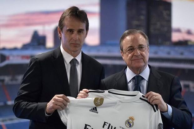 HLV Julen Lopetegui roi le trong ngay ra mat Real Madrid hinh anh 1