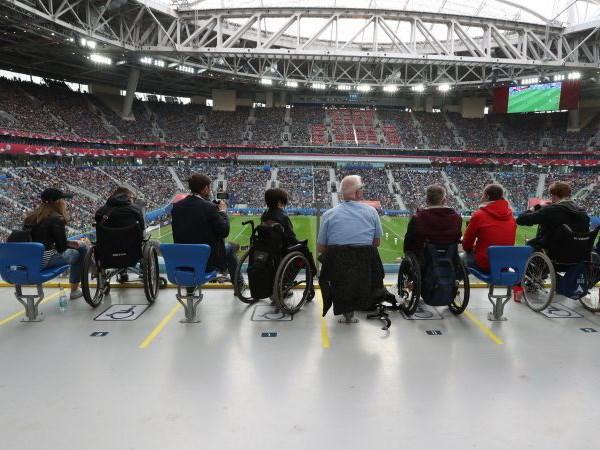 World Cup 2018 danh uu tien tuyet doi cho nguoi tat nguyen hinh anh 1