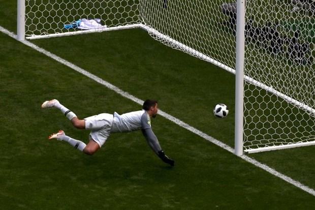 Can canh ban thang cua Pogba duoc cong nhan nho cong nghe goal-line hinh anh 1