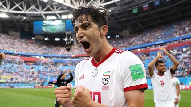 Tuyen Iran gay soc voi chien thang o tran ra quan World Cup 2018 hinh anh 1