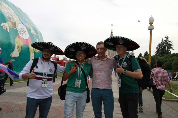 World Cup 2018: Co dong vien Mexico thich pho Viet Nam hinh anh 1