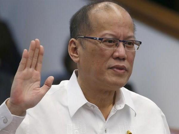 Cuu Tong thong Philippines Aquino bi cao buoc toi danh tham nhung hinh anh 1
