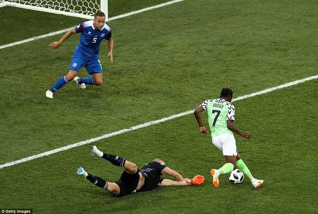Nigeria danh bai Iceland, cuc dien bang D dang rat kho luong hinh anh 2