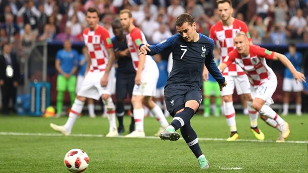 Phap vs Croatia 4-2: Les Bleus lan thu 2 len dinh the gioi hinh anh 23