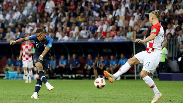 Phap vs Croatia 4-2: Les Bleus lan thu 2 len dinh the gioi hinh anh 28
