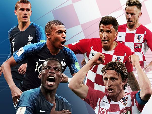 Link xem truc tiep tran chung ket World Cup 2018 Phap vs Croatia hinh anh 1